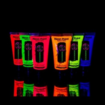 Body Paint Fluorescente Uv...